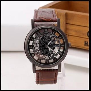 メンズ スケルトンアナログ腕時計(腕時計(アナログ))