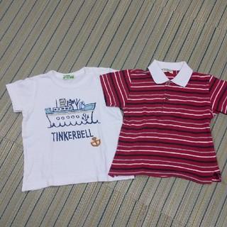 ティンカーベル(TINKERBELL)の男の子90 ティンカーベル(Tシャツ/カットソー)