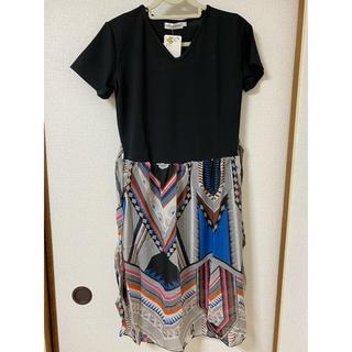 ワンピース ドレス 韓国ファッション XL(ロングワンピース/マキシワンピース)