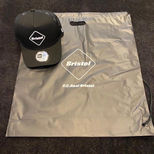 F.C.R.B.(エフシーアールビー)の新品 FCRB NEWERA メッシュキャップ 黒 BLACK メンズの帽子(キャップ)の商品写真
