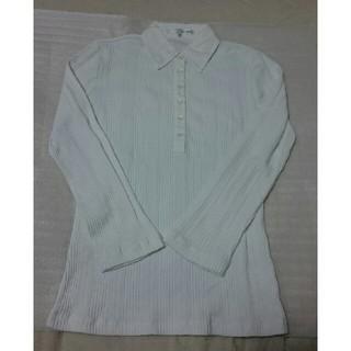エニィファム(anyFAM)のanyFAM 白色シャツ(シャツ/ブラウス(長袖/七分))