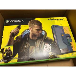 エックスボックス(Xbox)のXBOX ONE X サイバーパンク2077 EDTION セット(家庭用ゲーム機本体)