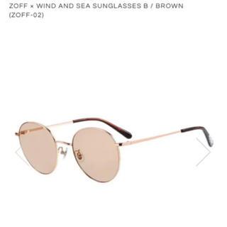 Zoff - Zoff × WIND AND SEA サングラス ブラウン キムタク