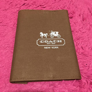 コーチ(COACH)のCOACHブックカバー付きノート (ブックカバー)