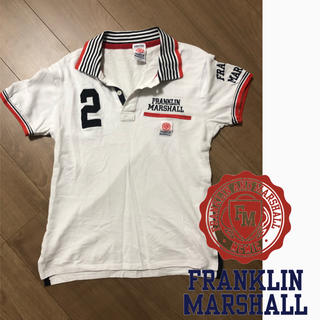 フランクリンアンドマーシャル(FRANKLIN&MARSHALL)のフランクリン マーシャル ポロシャツ   価格交渉ok(ポロシャツ)