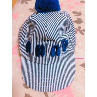 アナップキッズ(ANAP Kids)のANAP キッズ帽子🧢0〜3歳(帽子)