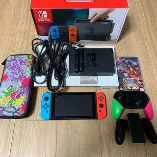 ニンテンドースイッチ(Nintendo Switch)の任天堂Switch 本体 プロコン付き(その他)
