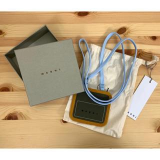 マルニ(Marni)の未使用 MARNI マルニ カードケース  ネックストラップ(パスケース/IDカードホルダー)