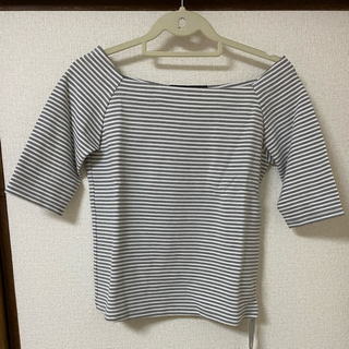 ビームス(BEAMS)のビームス ボーダーカットソー Tシャツ トップス(Tシャツ(半袖/袖なし))