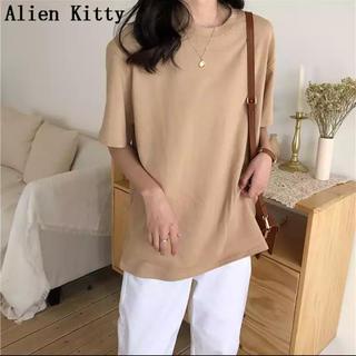 エイリアンキティ Tシャツ レディース(Tシャツ(半袖/袖なし))