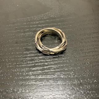 ステュディオス(STUDIOUS)の3連リング リング シルバー925 silver925 刻印(リング(指輪))