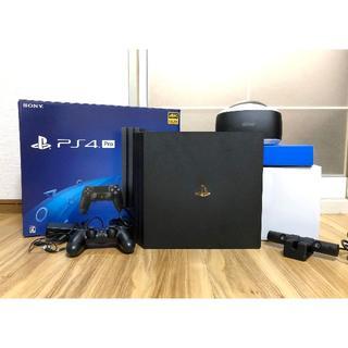 プレイステーション4(PlayStation4)のWKWK様 ps4 pro 本体1TB+vrセット(家庭用ゲーム機本体)