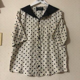 ミルクボーイ(MILKBOY)のMILK BOYセーラーカラーシャツ(シャツ)