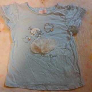 メゾピアノ(mezzo piano)のメゾピアノ 半袖Tシャツ(Tシャツ/カットソー)
