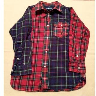 ラルフローレン(Ralph Lauren)のラルフローレン チェックシャツ 120(ブラウス)