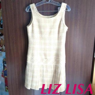 リズリサ(LIZ LISA)のリズリサ ツイードワンピース(ミニワンピース)
