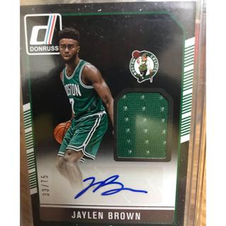 ジェイレンブラウン   NBAカード  16〜17donrussオート&ジャージ(シングルカード)
