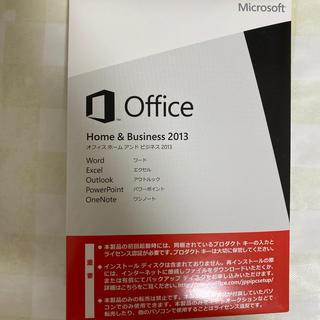 マイクロソフト(Microsoft)のMicrosoft Office Home and Business 2013 (その他)