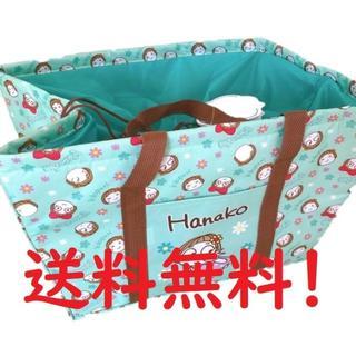 サンエックス(サンエックス)のキキぷり お買い物保冷バッグ ミント MINT 大容量 エコバッグ トートバッグ(トートバッグ)