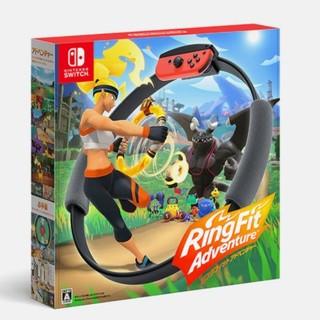 ニンテンドースイッチ(Nintendo Switch)の任天堂リングフィット アドベンチャー(家庭用ゲームソフト)