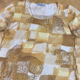 サルヴァトーレフェラガモ(Salvatore Ferragamo)のサルバトーレフェラガモ カットソー(Tシャツ(半袖/袖なし))