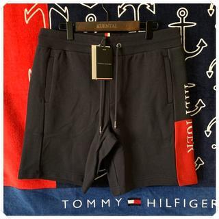 トミーヒルフィガー(TOMMY HILFIGER)のスウェットショーツ ハーフパンツ ネイビー TOMMY HILFIGER(スウェット)