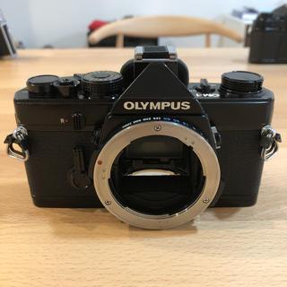 オリンパス(OLYMPUS)のOLYMPUS OM-1 ブラックボディ 美品(フィルムカメラ)
