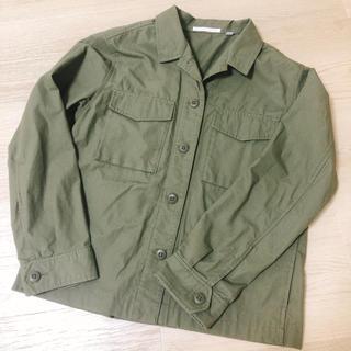 ユニクロ(UNIQLO)のミリタリーシャツ ミリタリージャケット(ミリタリージャケット)
