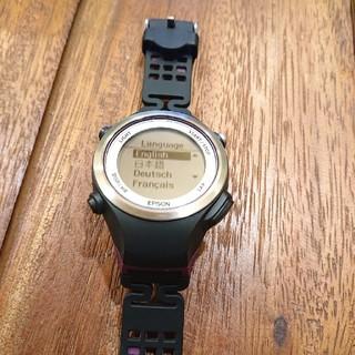 エプソン(EPSON)のEPSON wristableGPS SF-810(腕時計(デジタル))