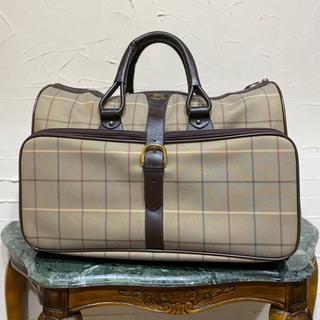 バーバリー(BURBERRY)の希少デザイン VINTAGE OLD Burberrys ボストンバッグ 旅行鞄(ボストンバッグ)