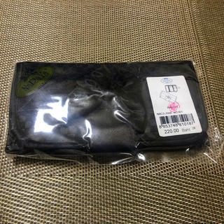 ナラヤ(NaRaYa)の三つ折り財布( 黒色の市松模様)♡ナラヤ ファスナー小銭入れ付(折り財布)