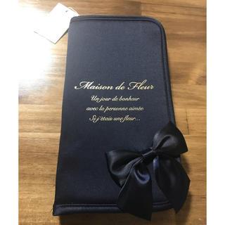 メゾンドフルール(Maison de FLEUR)のMaison de FLEUR  メゾンドフルール パスポートケースMサイズ(旅行用品)