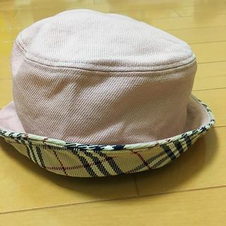 BURBERRY - BUR BERRY 女性用帽子 バーバリー ブルーレーベル 銀座直営店
