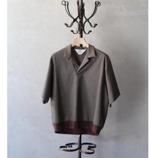 サンシー(SUNSEA)のSUNSEA 20ss snm4 polo (ポロシャツ)