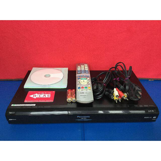 パナソニック(Panasonic)のパナソニック HDD搭載ハイビジョンDVDレコーダー DMR-XP12 動作品(DVDレコーダー)
