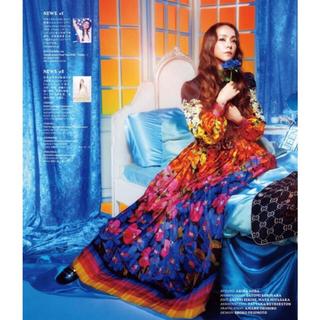 グッチ(Gucci)の安室奈美恵さん着用GUCCIグッチ レインボーフローラスカート 38サイズ(ロングスカート)