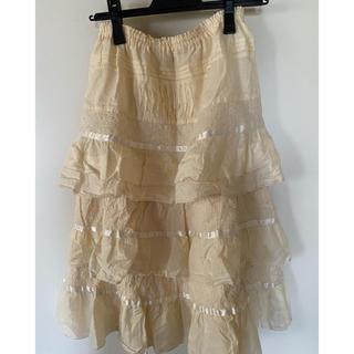 ピンクハウス(PINK HOUSE)のピンクハウス スカート 新品未使用 タグ付き(ひざ丈スカート)