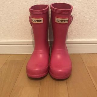 ハンター(HUNTER)のHUNTER長靴 キッズ ピンク(長靴/レインシューズ)