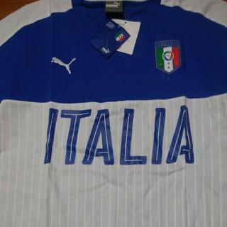 プーマ(PUMA)の再値下げ即決送料無料Pumaプーマジャパン新品サッカーイタリア代表Tシャツ(ウェア)