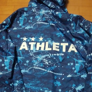 アスレタ(ATHLETA)の再値下げ即決送料無料ATHLETAアスレタナイロンパーカー(ウェア)