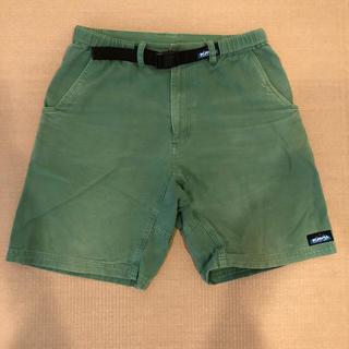 カブー(KAVU)のKAVUハーフパンツ 緑 Lサイズ(ショートパンツ)