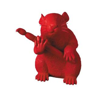 メディコムトイ(MEDICOM TOY)の当選品!LOVE RAT(RED Ver.) MEDICOM TOY バンクシー(その他)