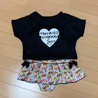 ジェニィ(JENNI)の美品☆JENNI♡ ジェニィ 水着 フルーツ柄 130(水着)