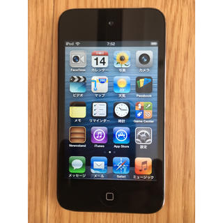 アイポッドタッチ(iPod touch)のUSED iPod第4世代32GB(ポータブルプレーヤー)