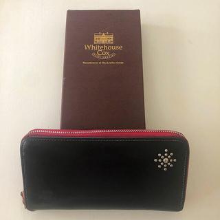 ホワイトハウスコックス(WHITEHOUSE COX)のホワイトハウスコックス beginスタッズ付き長財布(長財布)