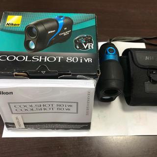 ニコン(Nikon)のニコンクールショット Nikon  COOLSHOT 80iVR(ゴルフ)