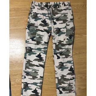 ビューティアンドユースユナイテッドアローズ(BEAUTY&YOUTH UNITED ARROWS)のUNITED ARROWS 迷彩 パンツ メンズSサイズ ミリタリー ロスコ(ワークパンツ/カーゴパンツ)
