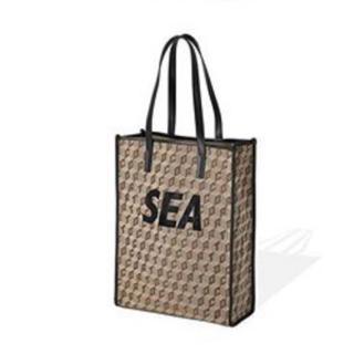 シー(SEA)のCORTO MOLTEDO wind and sea モノグラムトートバッグ(トートバッグ)