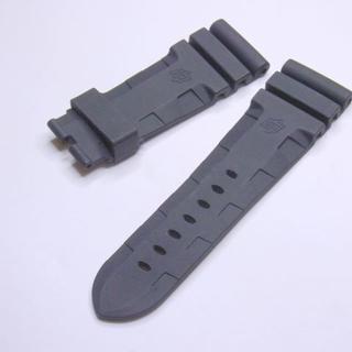 パネライ(PANERAI)の送料込 PANERAI 対応 ★26mm ブラック ラバーベルト (ラバーベルト)