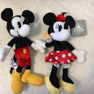 ディズニー(Disney)のWDW ランナウェイ レールウェイ ミッキー&ミニーぬいぐるみセット 日本未入荷(キャラクターグッズ)